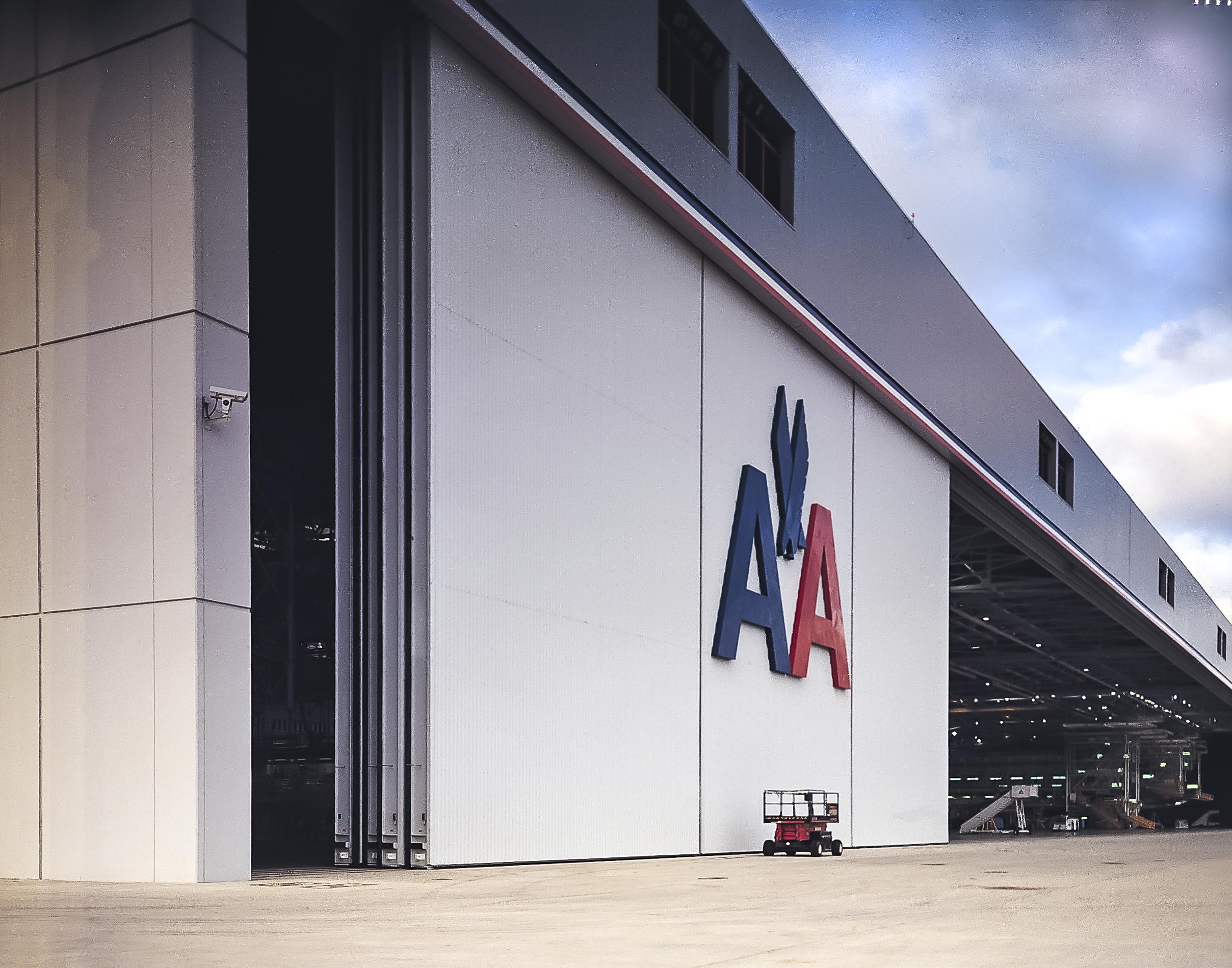 how to build a hangar door