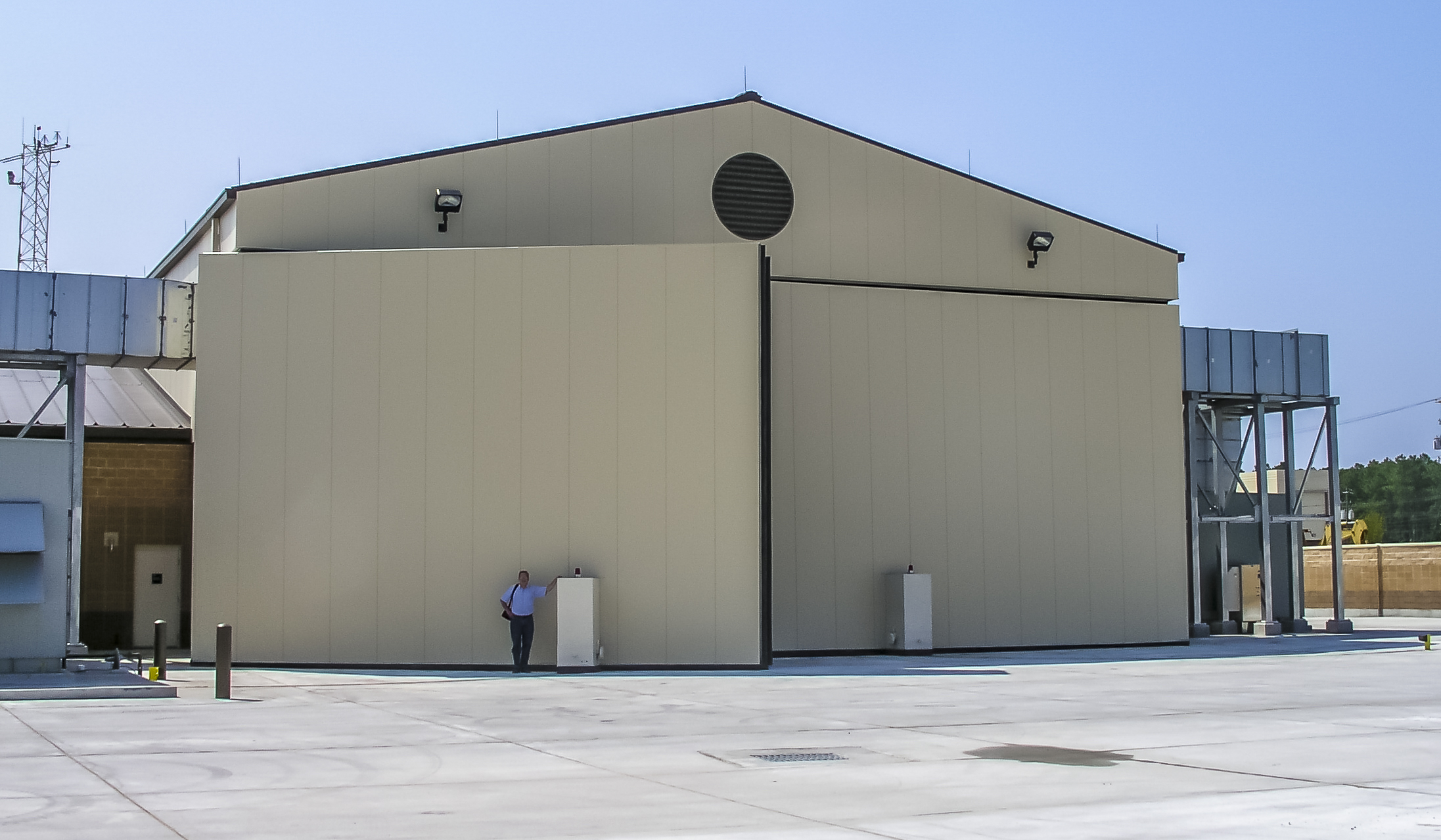 Langley Air Force Base & Plenum Doors - Fleming Steel CompanyFleming Steel Company
